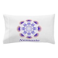 Namaste Purple Lotus Pillow Case