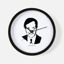Dennis Kucinich Face Wall Clock