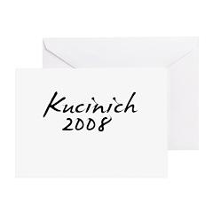 Kucinich Autograph Greeting Card