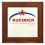 Kucinich for President Framed Tile