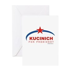 Kucinich for President Greeting Card