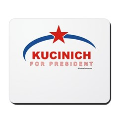 Kucinich for President Mousepad