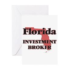 Florida Investment Broker Greeting Cards