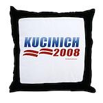 Kucinich 2008 Throw Pillow