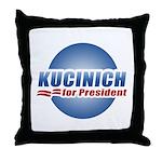 Kucinich for President Throw Pillow