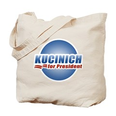 Kucinich for President Tote Bag