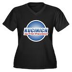 Kucinich for President Women's Plus Size V-Neck Da