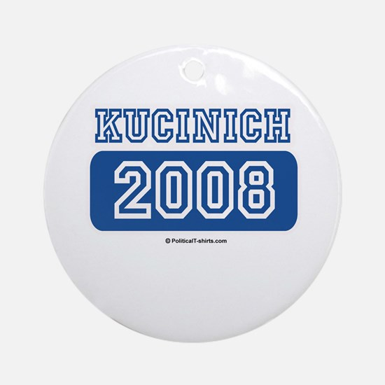 Kucinich 2008 Ornament (Round)