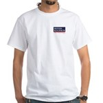 Dennis Kucinich for President White T-Shirt