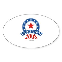 Kucinich 2008 Oval Decal