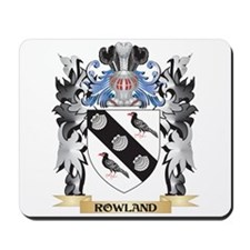 Rowland Coat of Arms - Family Crest Mousepad