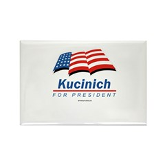 Kucinich for President Rectangle Magnet (100 pack)
