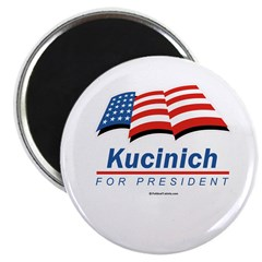 """Kucinich for President 2.25"""" Magnet (10 pack)"""