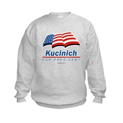 Kucinich for President Sweatshirt