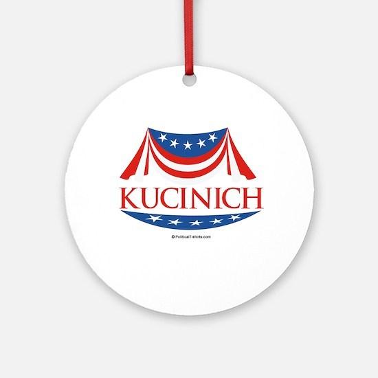 Kucinich Ornament (Round)