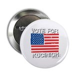 Vote for Kucinich Button