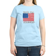 Vote for Kucinich Women's Light T-Shirt