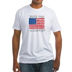 Vote for Kucinich Fitted T-Shirt