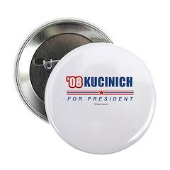 """Kucinich 2008 2.25"""" Button (10 pack)"""