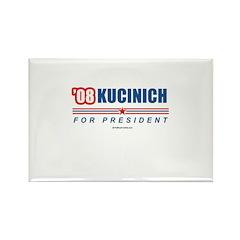 Kucinich 2008 Rectangle Magnet
