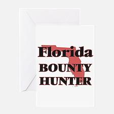 Florida Bounty Hunter Greeting Cards