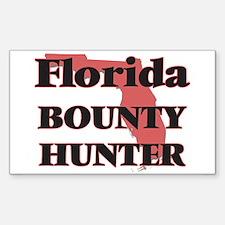 Florida Bounty Hunter Decal