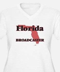 Florida Broadcaster Plus Size T-Shirt