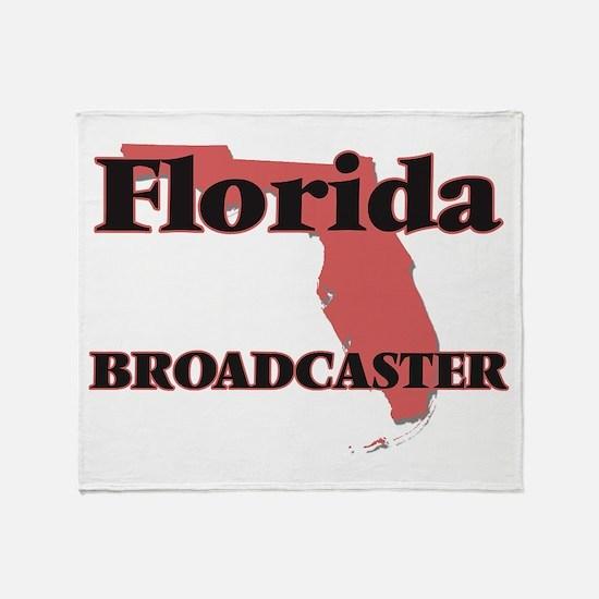 Florida Broadcaster Throw Blanket