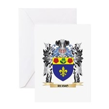 Rubio Coat of Arms - Family Crest Greeting Cards