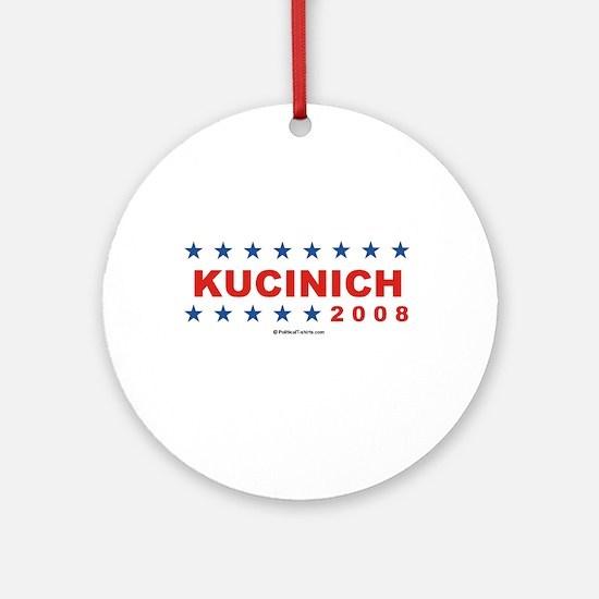 Dennis Kucinich 2008 Ornament (Round)