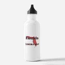Florida Camera Man Water Bottle