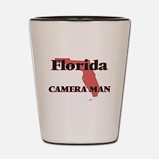 Florida Camera Man Shot Glass