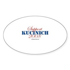 Support Kucinich Oval Decal