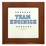 Team Kucinich Framed Tile