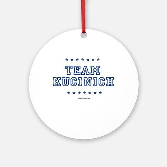 Team Kucinich Ornament (Round)
