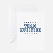 Team Kucinich Greeting Card