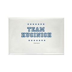 Team Kucinich Rectangle Magnet (10 pack)