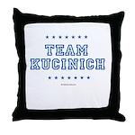 Team Kucinich Throw Pillow