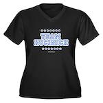 Team Kucinich Women's Plus Size V-Neck Dark T-Shir