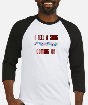 SONG COMING ON Baseball Jersey