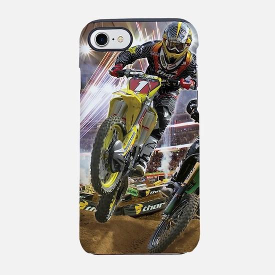 Motocross Arena iPhone 8/7 Tough Case