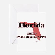 Florida Child Psychotherapist Greeting Cards