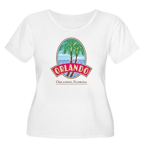 Classic Orlando - Women's Plus Size Scoop Neck T-