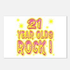 21 Year Olds Rock ! Postcards (Package of 8)