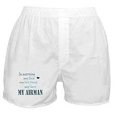 Marrying my Airman Boxer Shorts