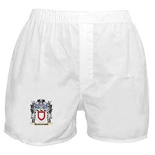 Rutherford Coat of Arms - Family Cres Boxer Shorts