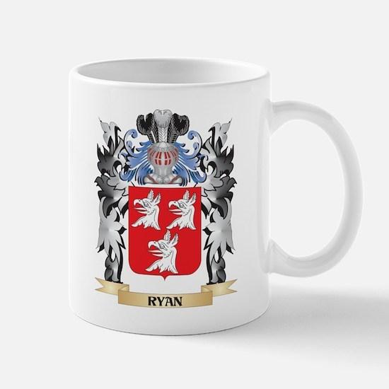 Ryan Coat of Arms - Family Crest Mugs