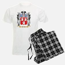 Ryan Coat of Arms - Family Cr Pajamas