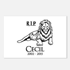R.I.P. Cecil Postcards (Package of 8)