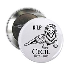 "R.I.P. Cecil 2.25"" Button"